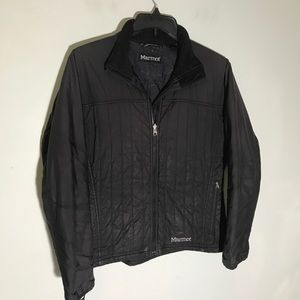 Marmot Black Quilted Jacket Womens Medium